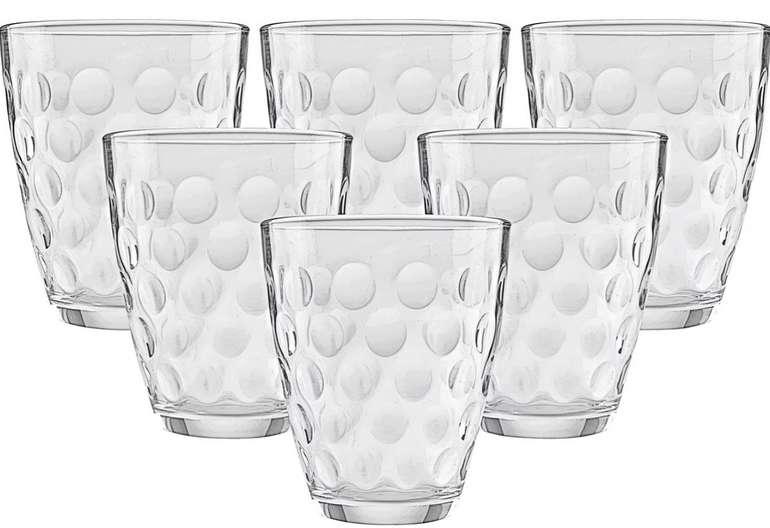 Mömax Sommersale mit bis zu 70% Rabatt - z.B. 6-teiliges Dots Gläser Set für 2€ (statt 7€)