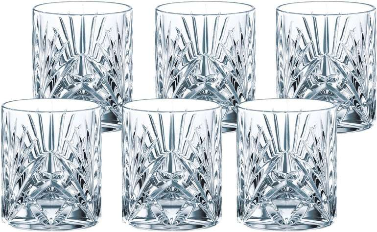 6er Set Nachtmann Palais Whiskygläser aus Kristallglas für 23,67€ (statt 41€) - Abholung: 17,77€