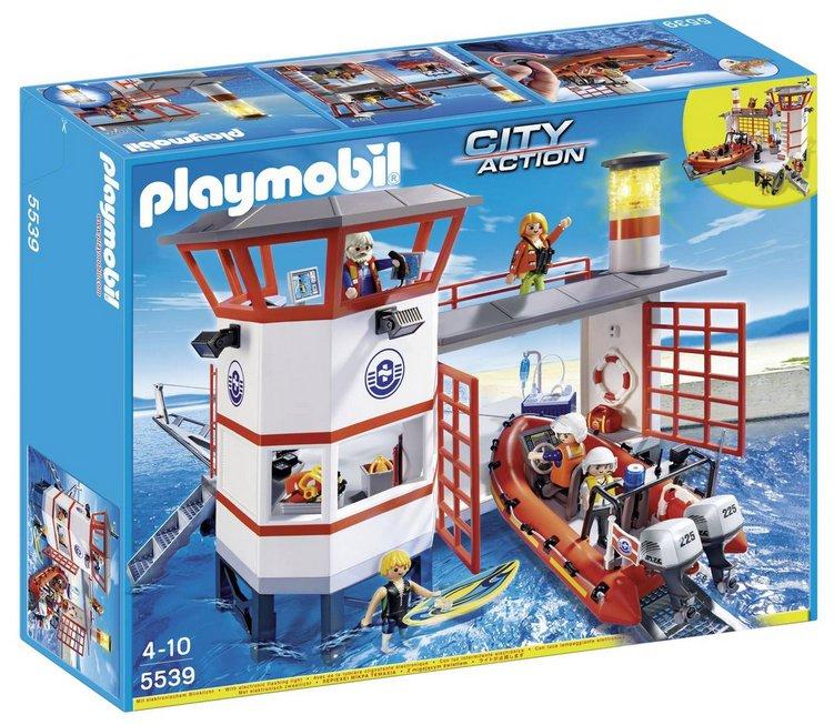 Playmobil Küstenwachstation mit Leuchtturm (5539) für 33,99€ inkl. Versand (statt 55€)