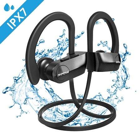 Mpow D7 Bluetooth Kopfhörer mit bis zu 12 Stunden Laufzeit & IPX7 für 13,99€