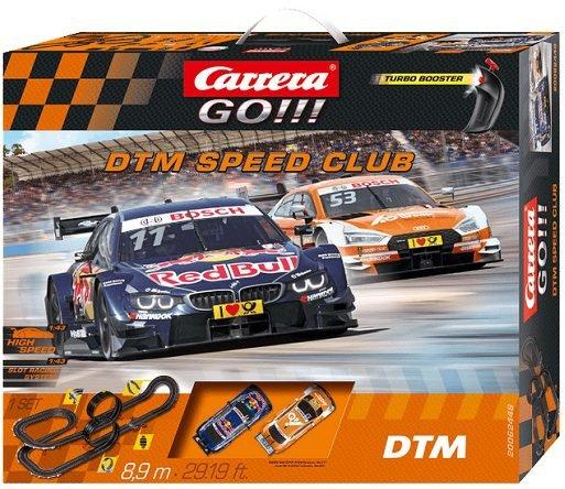 Carrera GO!!! - DTM Speed Club Rennbahn für 55€ inkl. Versand (statt 80€)