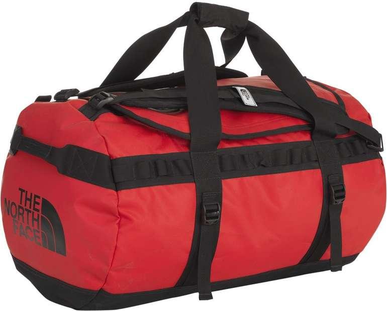 The North Face Base Camp Duffel Bag M Reisetasche (71 Liter / Schwarz/Rot) für 56,61€