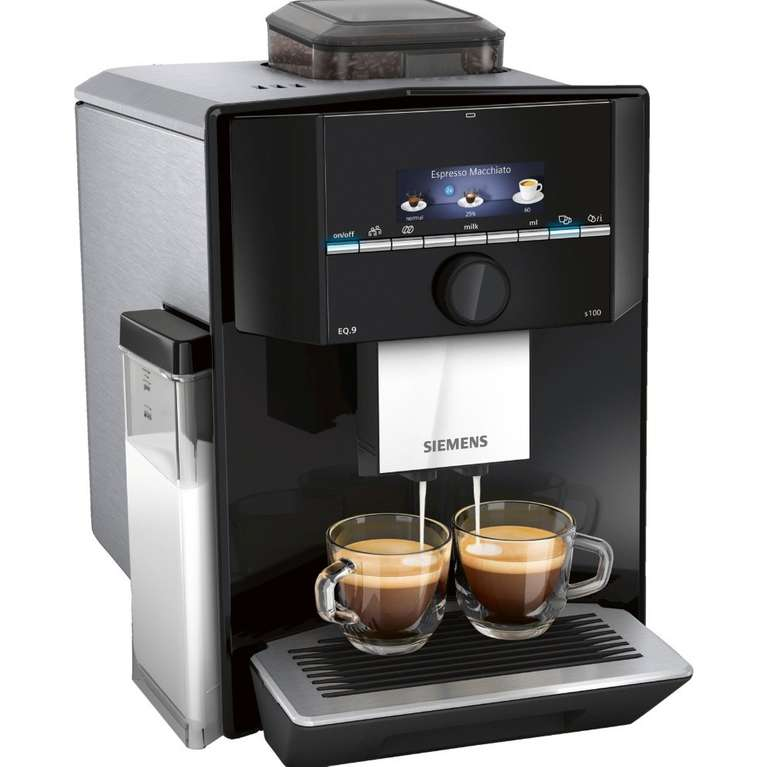 Siemens TI921509DE EQ.9 S100 Kaffeevollautomat für 849€ inkl. Versand (statt 999€)