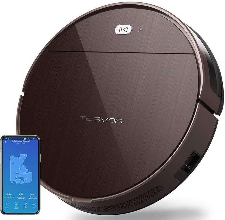 Tesvor V300 Saugroboter (Raumkarte, Alexa kompatibel, App-gesteuert) für 119,95€