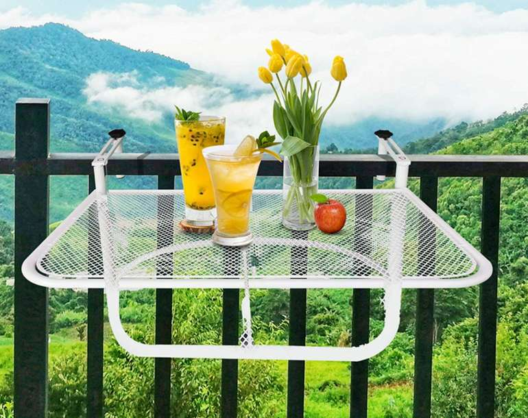 Outsunny Balkonhängetisch (höhenverstellbar) für 32,90€inkl. Versand (statt 38€)