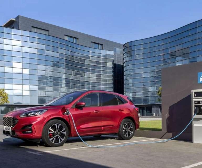 Gewerbe Leasing: Ford Kuga Hybrid 2.5 mit 224 PS für 63,89€ netto mtl. (ÜF + BAFA, LF: 0,19)