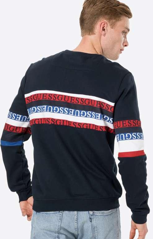 """Guess Sweatshirt """"Carlton"""" in Navy für 23,90€inkl. Versand (statt 48€)"""