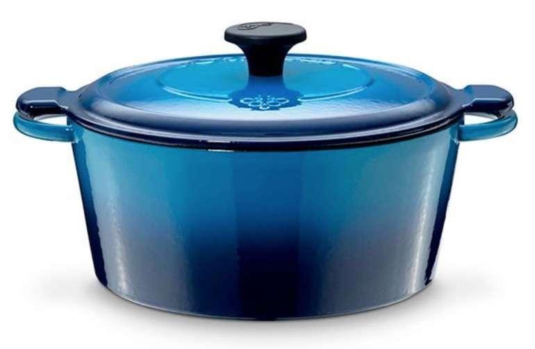 Fontignac by Staub Blauer Gusseisen Bräter (oval, 4,3 Liter) für 54,24€ inkl. Versand (statt 99€)