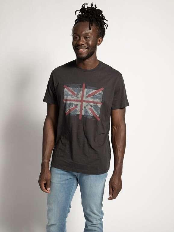 Pepe Jeans T-Shirt Brad in Anthrazit für 15,67€ inkl. Versand (statt 35€) - MBW: 29,90€!