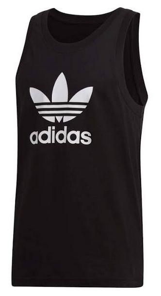Adidas Originals Top 'Trefoil' in schwarz für 16,99€ (statt 20€)