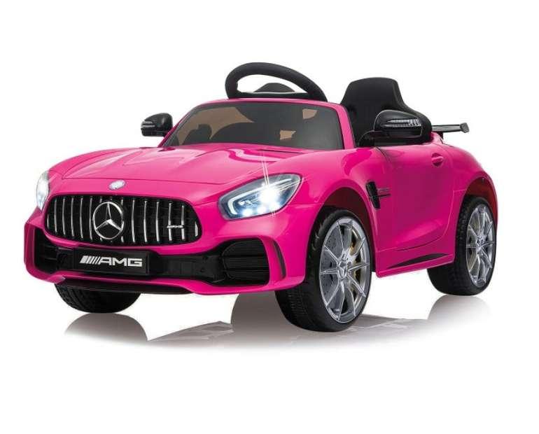 Jamara Ride-on Kinder-Elektroauto Mercedes-Benz AMG GT R in pink (2,4G, 12V) für 191,77€ inkl. Versand