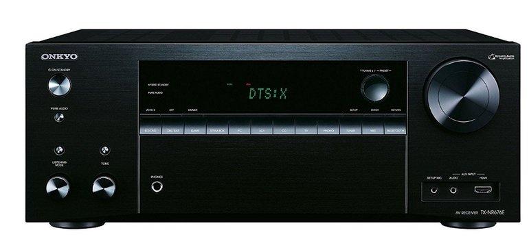 Onkyo TX-NR676E Multiroom 7.2 AV WiFi Airplay Receiver für 279,90€ (statt 374€)