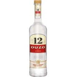 Preisfehler? Ouzo 12 - Anislikör 36 % Vol. 6 x 0,7l Flaschen für 14,22€