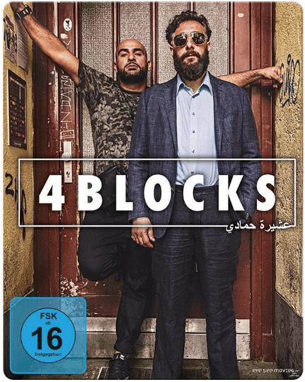 4 Blocks, 1. Staffel Blu-ray in der Steel Edition für 13€ inkl. Versand