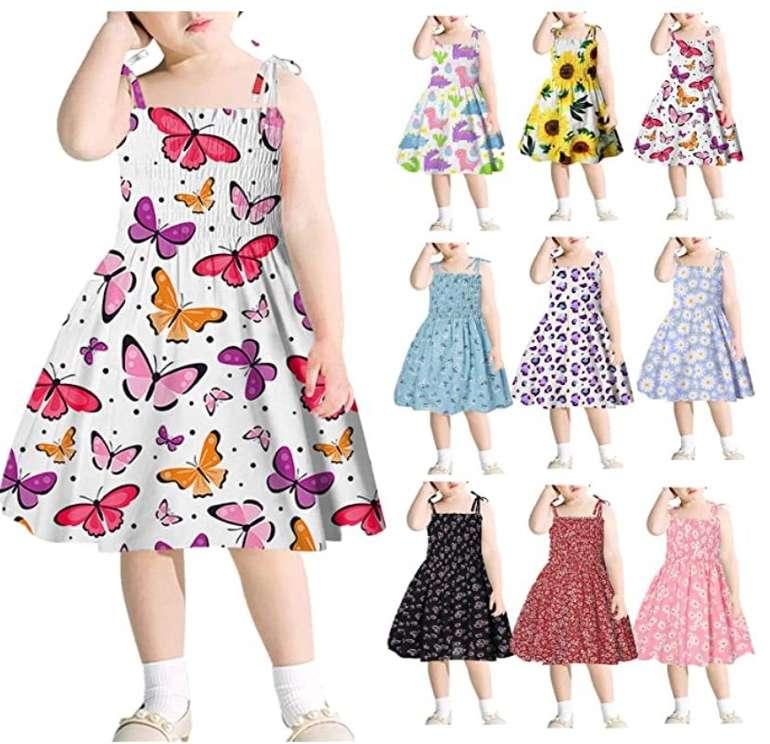 Koperras Mädchen Sommerkleid (geeignet für 1-6 Jahre, verschiedene Designs) ab 4,49€ inkl. Versand