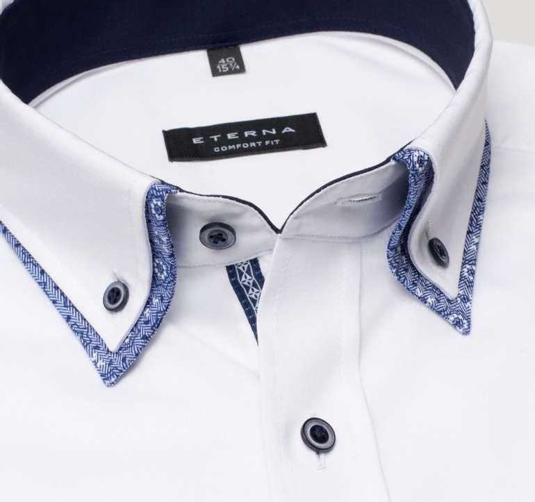 Eterna Sale mit 19% Extra-Rabatt (Mindestbestellwert: 49€) - z.B. 2 Comfort Fit Pinpoint Hemden für 64,71€