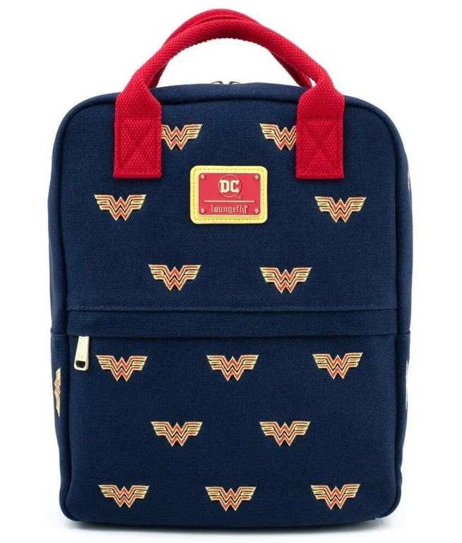 Loungefly DC Comics Wonder Woman Canvas Icon Backpack für 41,48€ inkl. Versand (statt 79€)