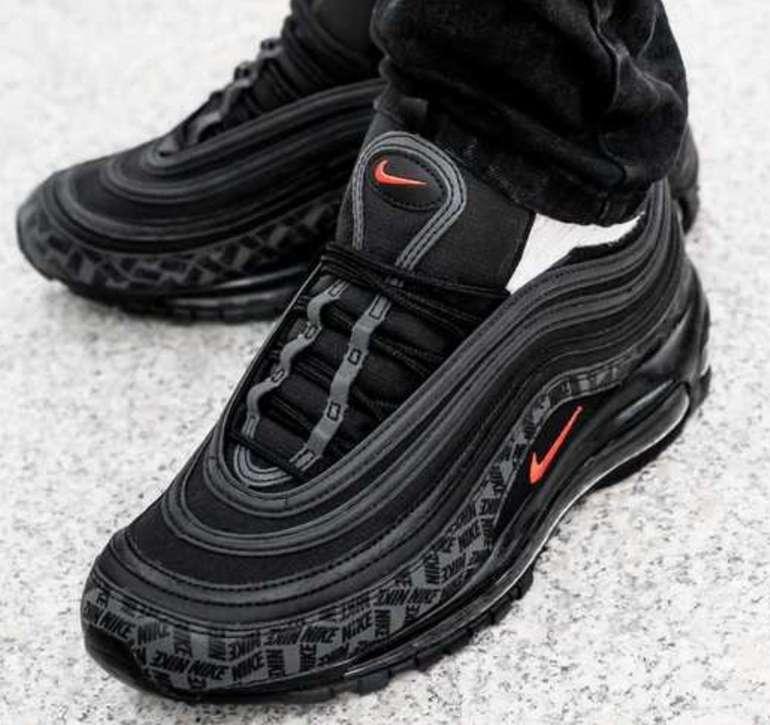 Nike Air Max 97 Sneaker in black/black/university red für 134,99€ (statt 150€)