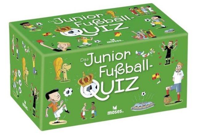 Moses MOS90233 - Das Junior Fußball Quiz (Kartenspiel, Wissensspiel) für 7,03€ (statt 13€) - Thalia Club!