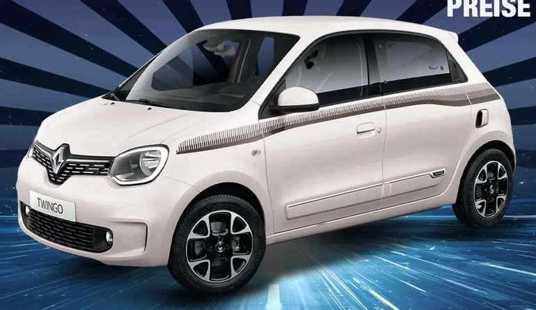 Privatleasing: Renault Twingo Limited SCe 75 mit 73 PS für 69€ mtl. (LF: 0,55)