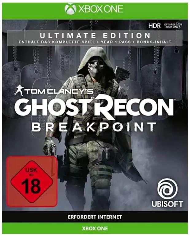 Tom Clancy's Ghost Recon: Breakpoint für Xbox (Ultimate Edition) je 17,56€ inkl. Versand (statt 34€)