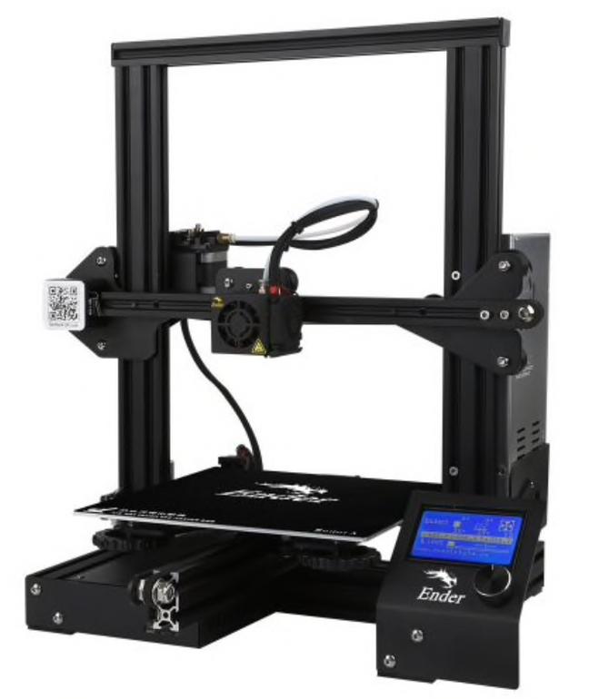 Creality3D Ender - 3 DIY 3D Drucker für 144,42€ inkl. Versand (statt 168€)