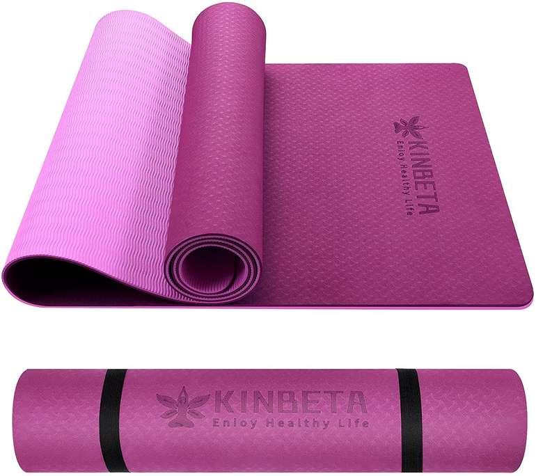 Kinbeta rutschfeste Gymnastikmatte (183 x 61 x 0,6 cm) für 10€ inkl. Prime Versand
