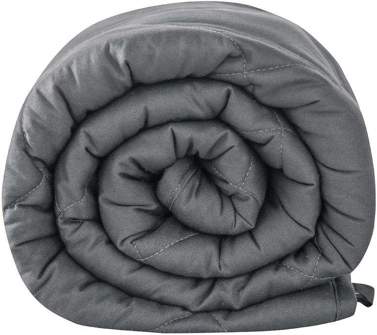 Leefun schwere Decke (Grau, 135x100cm, 3kg) für 29,99€ (statt 40€)