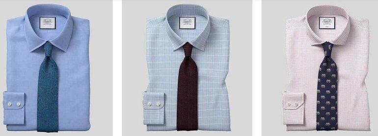 3er Pack Charles Tyrwhitt Herren Hemden 2