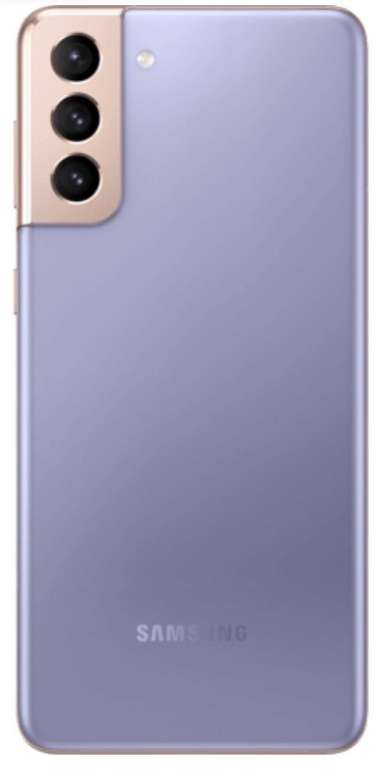 Samsung Galaxy S21+ 256GB Violett (4,95€) + O2 Free M Boost (40GB LTE max, Allnet/SMS, VoLTE) für 34,99€ mtl.
