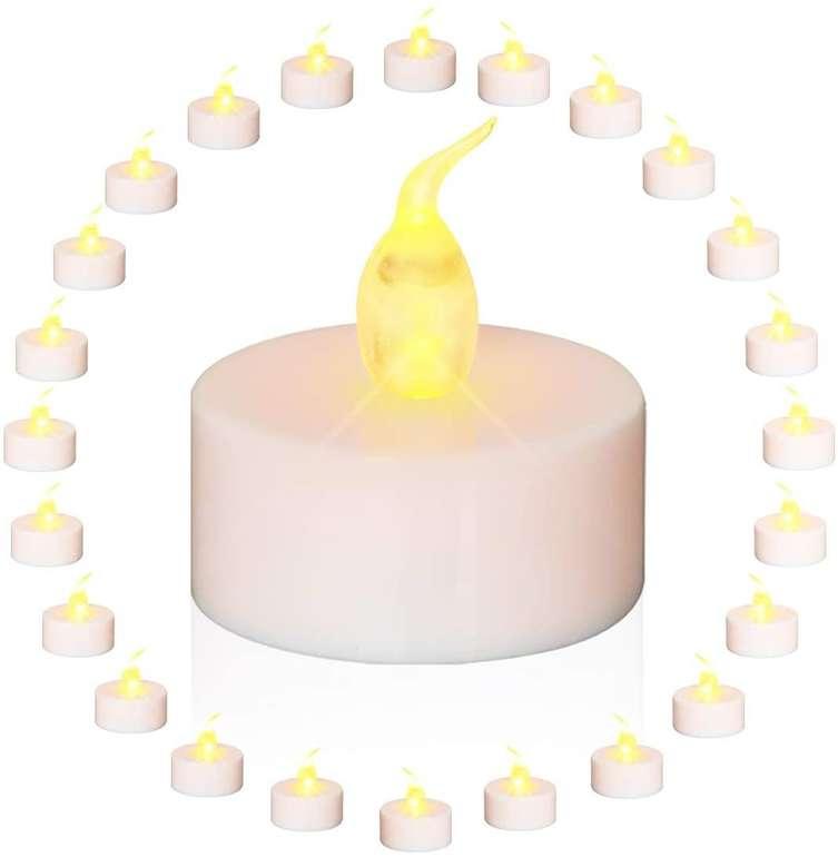 Glime 24er Pack LED Kerzen für 7,79€ inkl. Prime Versand (statt 10€)