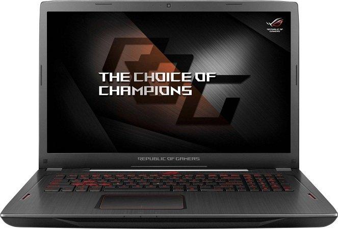 ASUS GL702ZC-GC179T Gaming Laptop mit RX580 (4GB) & Ryzen 7 für 1.099€
