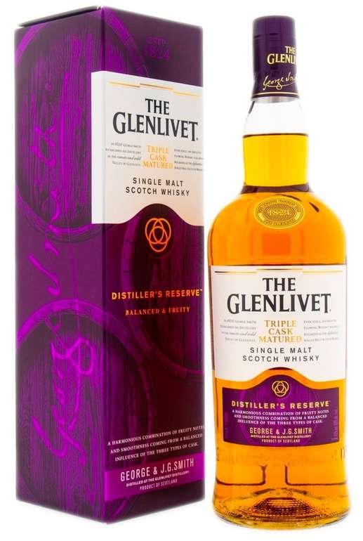 The Glenlivet Master Distiller's Reserve Triple Cask Matured 1L für 36,90€ inkl. Versand (statt 45€)