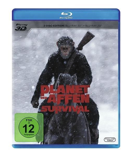 Planet der Affen: Survival (Blu-ray) für 7,19€ inkl. Versand (statt 11€) - Thalia Club
