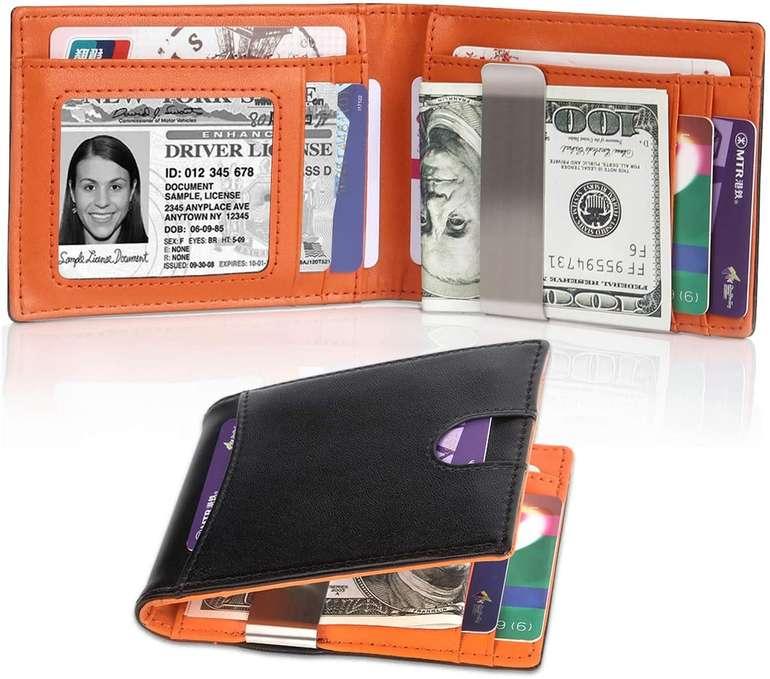 Tocode Herren Leder Geldbörse mit Geldklammer für 14,99€ inkl. Versand (statt 30€)