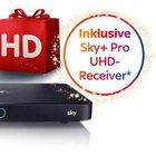 Sky Starterpaket + Entertain & 3 Premiumpakete + HD+ Receiver für 29,99€ mtl.