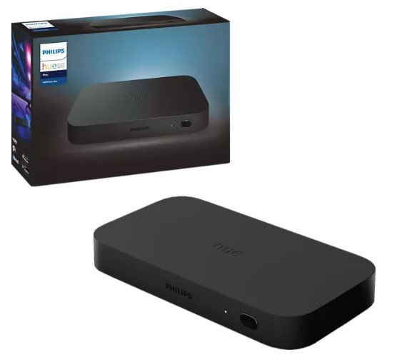 Top! Philips Hue Play HDMI Sync Box + Gradient 65 Zoll + Hue Bridge für 363€ inkl. Versand (statt 492€)