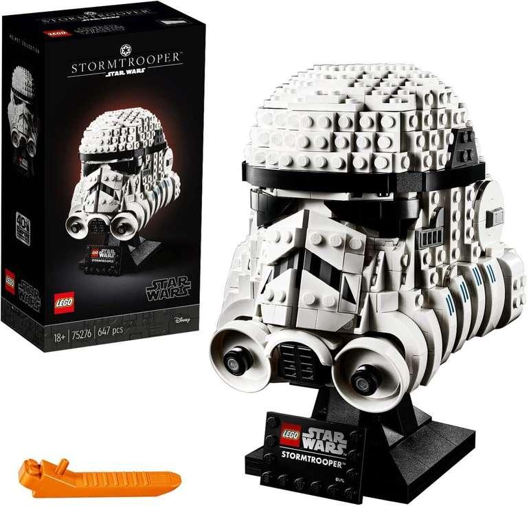 Amazon Prime Day: Lego 75276 Star Wars - Stormtrooper Helm für 35,71€ inkl. Versand (statt 45€)