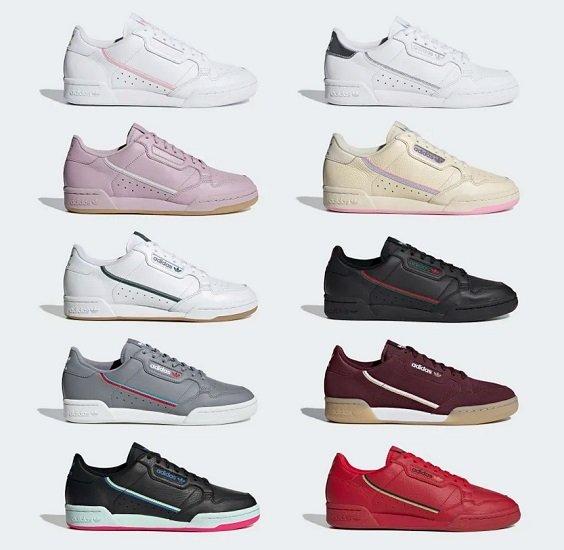 adidas Originals Continental 80 Sneaker für Damen & Herren je…