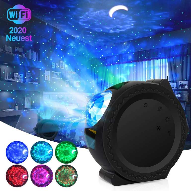 Ceshu LED Sternenhimmel Projektor (App, Alexa & Google Assistent kompatibel) ab 30,59€ inkl. Versand (statt 51€)