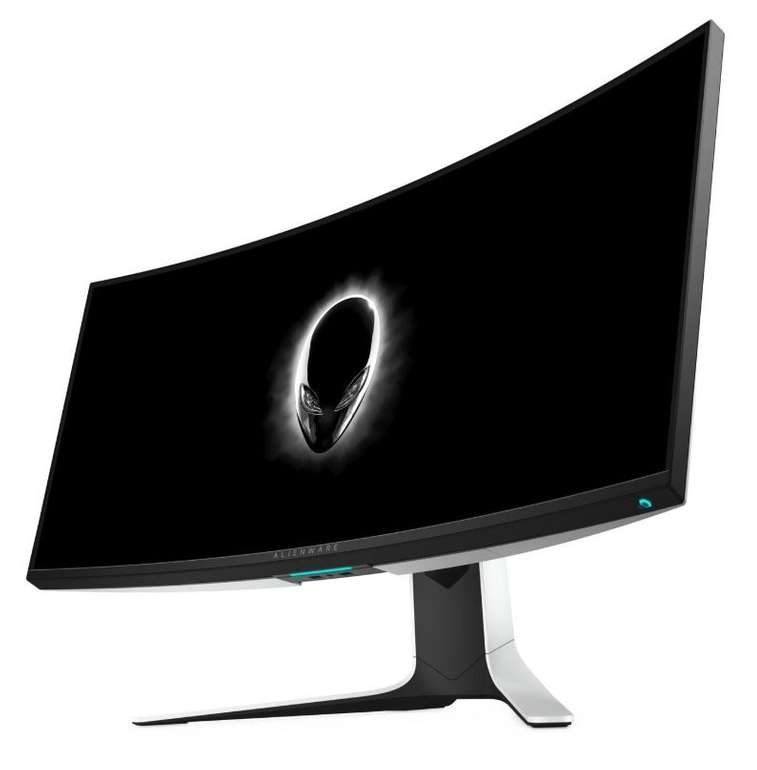 "34"" Dell Alienware ""AW3420DW"" Curved-LED-Monitor (3440 x1440, IPS, 2ms, 120Hz, WQHD) für 879,20€"