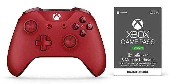 Xbox One S Wireless Controller (in 3 Farben) + 3 Monate Xbox Game Pass Ultimate für 48,48€ (statt 67€)