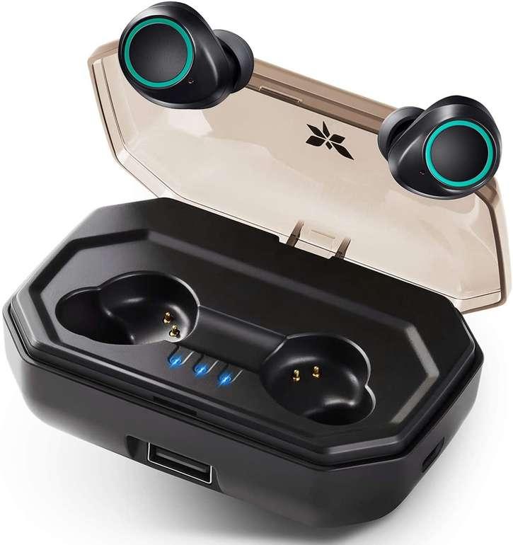 Axloie wasserdichte Bluetooth Kopfhörer mit Ladebox für 19,99€ inkl. Versand (statt 30€)