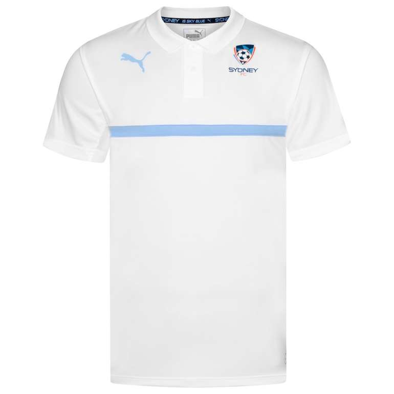 Puma FC Sydney Herren Polo-Shirt (Trainings-Oberteil) für 18,94€ inkl. VSK (statt 24€)