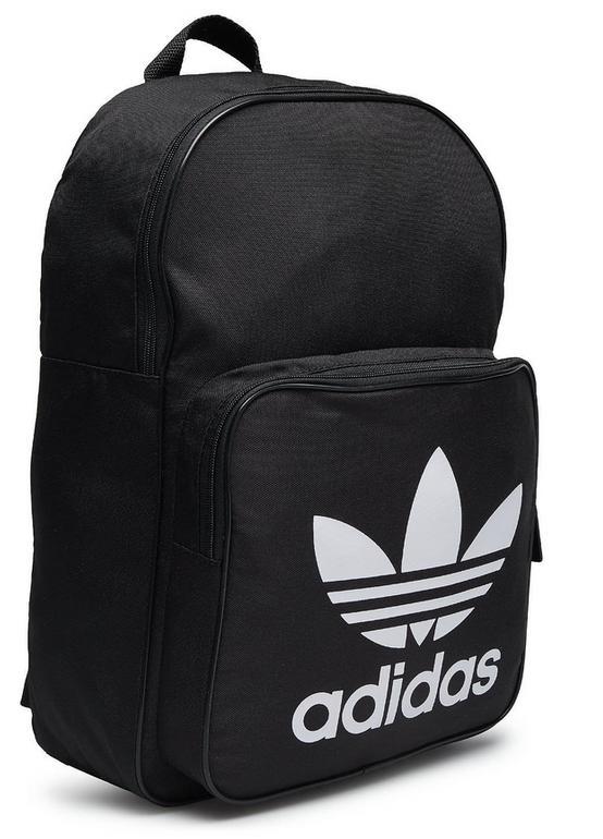 Adidas Originals Trefoil Backpack in schwarz für 17,77€ inkl. VSK (statt 23€)
