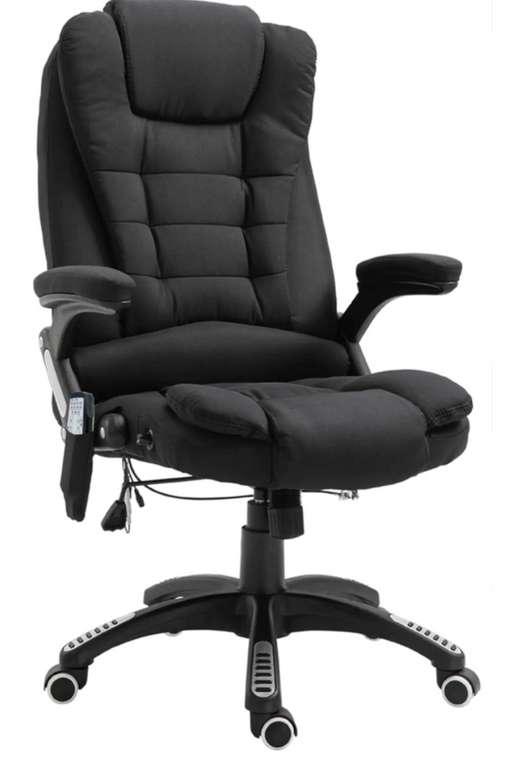 Vinsetto Bürostuhl mit Massage- und Wärmefunktion für 199,99€ inkl. Versand (statt 240€)