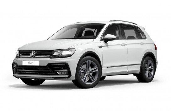 Gewerbe Leasing: Volkswagen Tiguan R-Line für 129€ mtl. Netto  (Überführung: 999€, LF: 0,32)