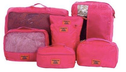 7-tlg. wasserdichtes Luggage Reisetaschen Set für 12,39€ (statt 20€)