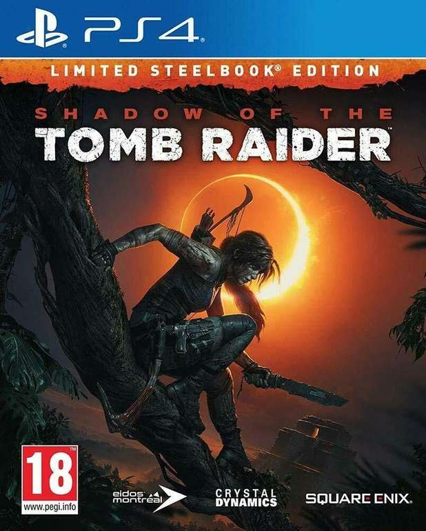 Shadow of the Tomb Raider - Steelbook Edition (PS4) für 17,99€ inkl. Versand