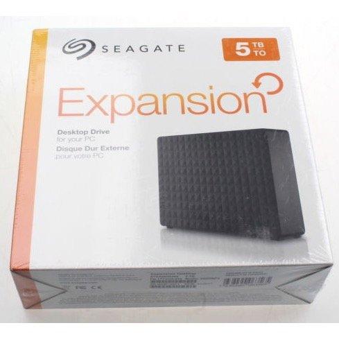 """Seagate Expansion Desktop ext. 3,5"""" Festplatte mit 5TB für 119€ mit Versand"""